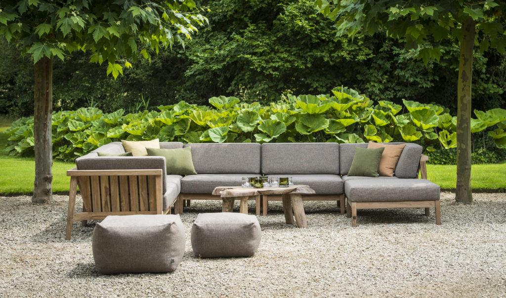 Outdoor Sofa Teak Gommaire